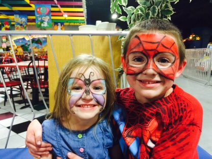 Fairy, and Spidy 11/8/14
